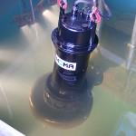 Submersible pump at water